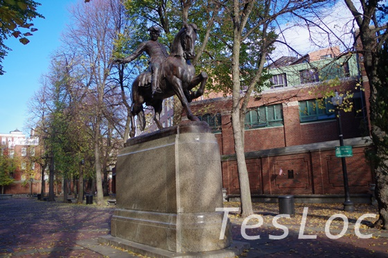 statue-of-paulrevere