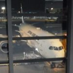 ボストン出張に出発! 成田空港での食事、JAL直行便の機内食など