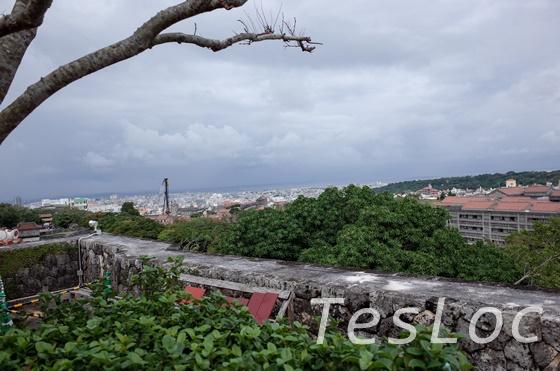 首里城出口側からの眺望