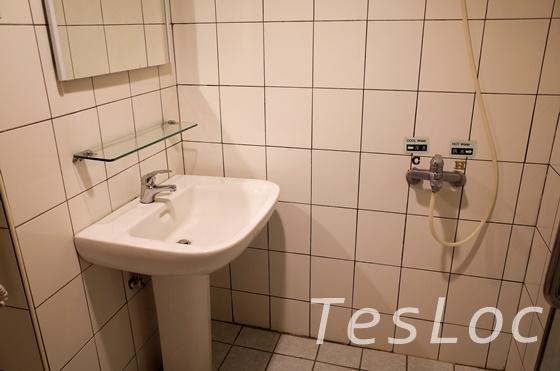 板橋王ホテルの洗面台