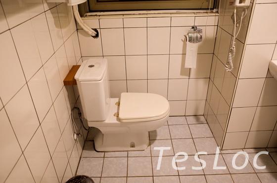 板橋王ホテルのトイレ
