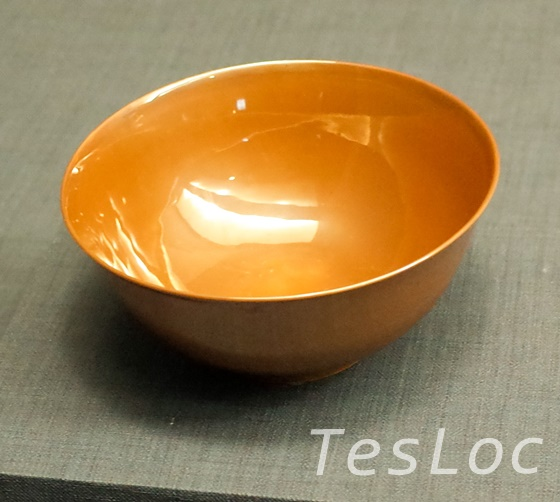故宮博物院の金色の釉椀