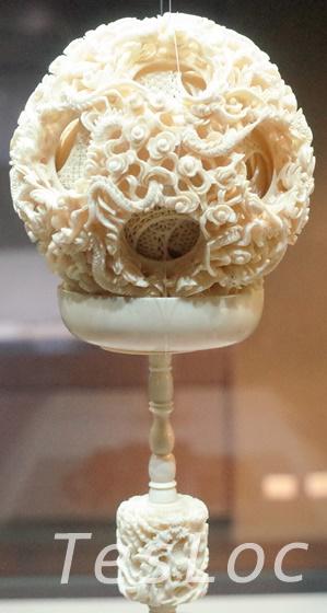 故宮博物院象牙のボール