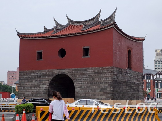 台湾の北門