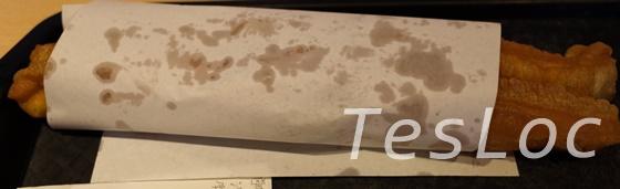 阜杭豆漿の油條
