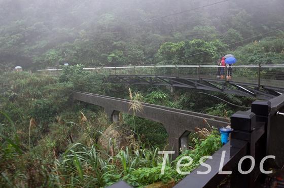 金瓜石黄金博物館横の橋