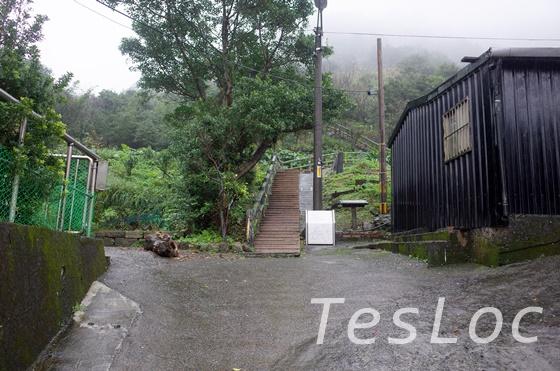 金瓜石茶壺山の入口