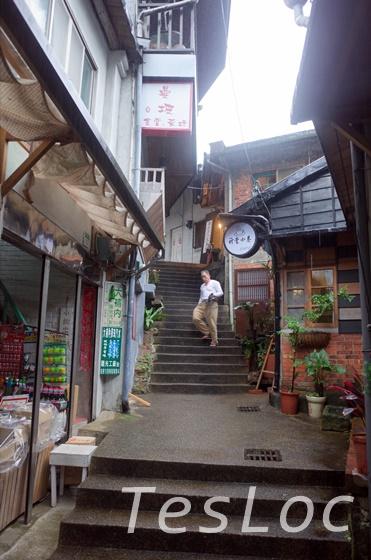 金瓜石の老街