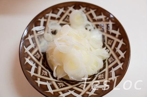 宅麺.comとみ田用長ネギスライス