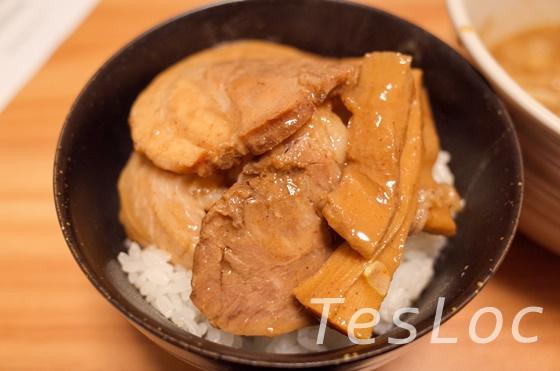 宅麺.comとみ田のチャーシュー丼