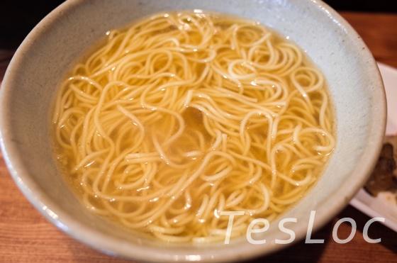 麺や一途kizunaのフォアグラトリュフらーめん章上から