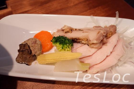 麺や一途kizunaのフォアグラトリュフらーめん章トッピング