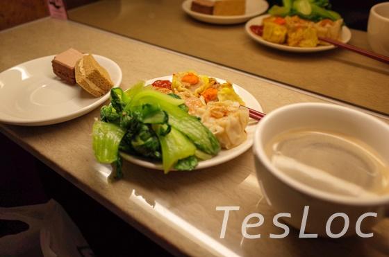 松山空港ラウンジの食事