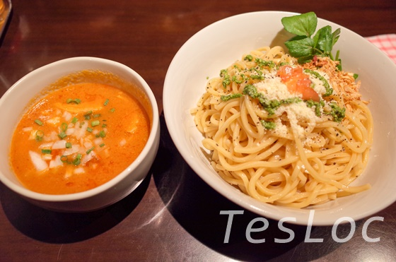 ajito-ismのつけ麺ロッソ大盛り