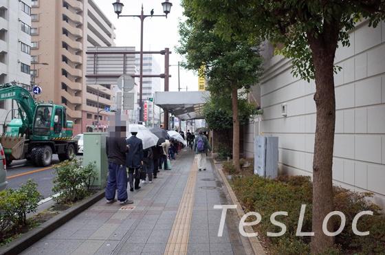 ラーメン二郎横浜関内店の行列