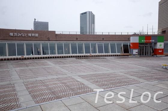 横浜みなと博物館の外観