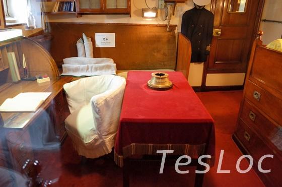 帆船日本丸船長の寝室