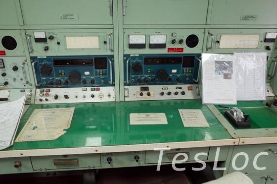 帆船日本丸の通信室