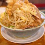 【ラーメン二郎 八王子野猿街道店2】🍜はヤサイも麺も肉も量がヤバい! なのに味も美味しい!!