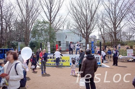 宮崎台さくら祭りのプロレスリング