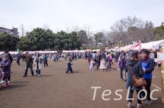 宮崎台さくら祭り第一公園の露店