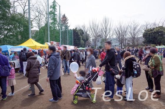宮崎台さくら祭りの露店2