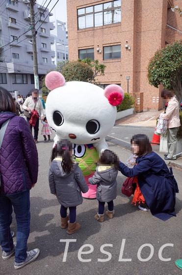 宮崎台さくら祭りのキャラ