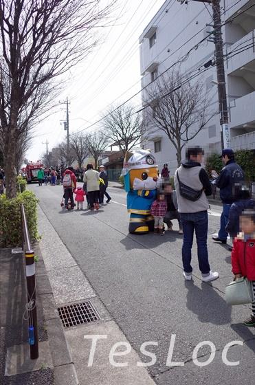 宮崎台さくら祭り消防のマスコット