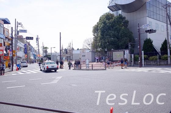 大岡山駅から東工大を見た様子