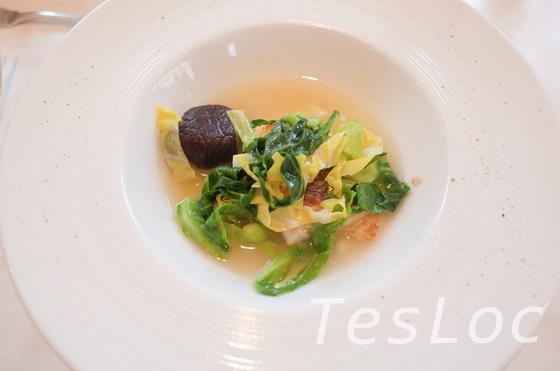 ラトラスの真鯛のブイヨンスープ