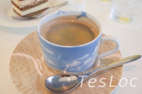ポーラ美術館カフェのコーヒー