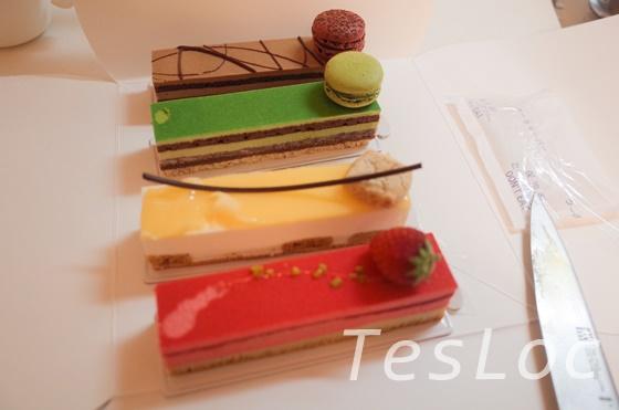 サダハルアオキのケーキ4種類