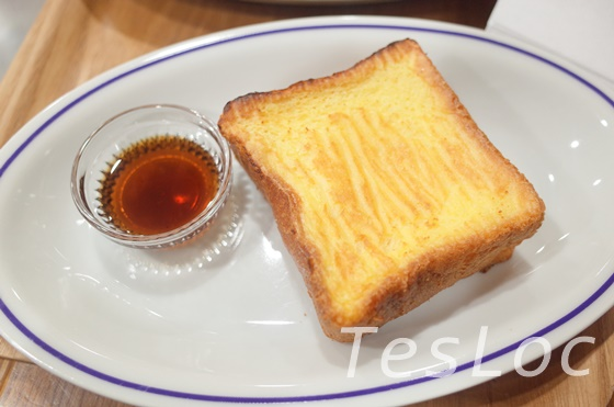 成田空港第2ターミナルエクセルシオールのフレンチトースト