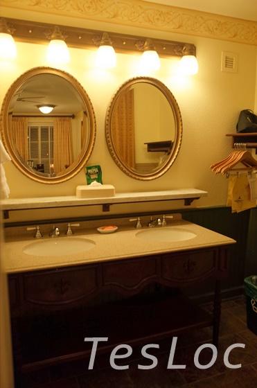 WDWフレンチクォーターの洗面所