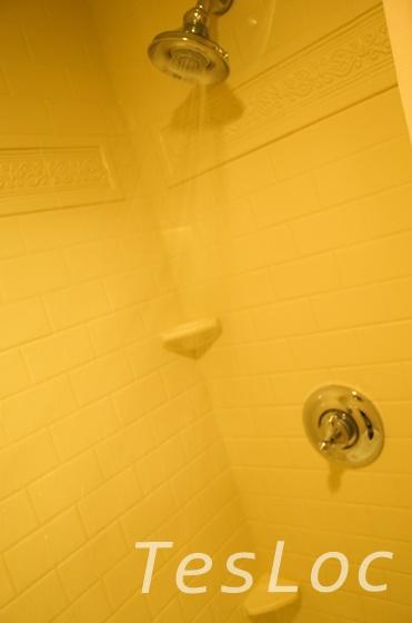 WDWフレンチクォーターのシャワー