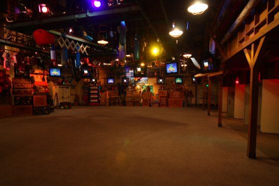 WDWハリウッドスタジオ「マペットビジョン-3D」のプレショーエリア