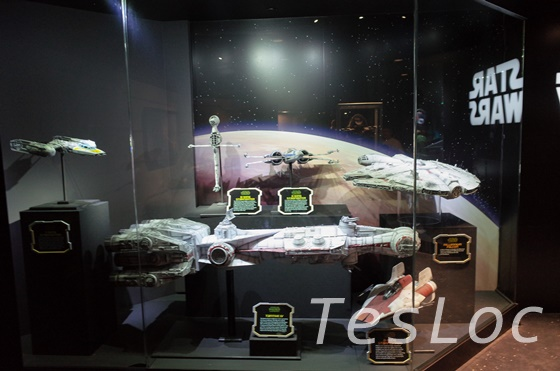 WDWハリウッドスタジオ「Star Wars Launch Bay」ミレニアム・ファルコン号