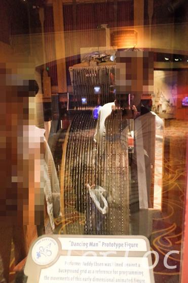 WDWハリウッドスタジオ「ワン・マンズ・ドリーム」オーディオ・アニマトロニクスの動作原理