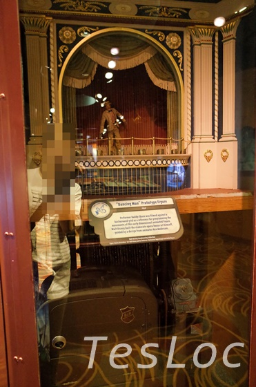 WDWハリウッドスタジオ「ワン・マンズ・ドリーム」オーディオ・アニマトロニクスの原型となった人形