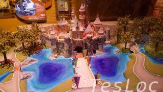 WDWハリウッドスタジオ「ワン・マンズ・ドリーム」上海ディズニーランドの模型