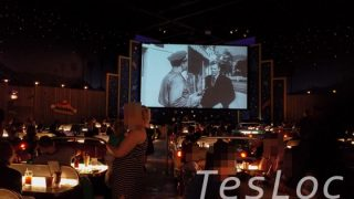 WDWハリウッドスタジオ「サイ・ファイ・ダイン・イン」後ろから撮影した写真