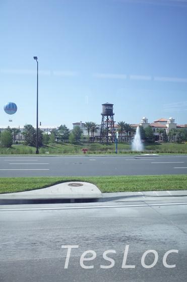 WDWディズニー・スプリングス、給水塔