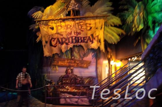 WDWディズニー・スプリングス「ディズニー・クエスト」カリブの海賊