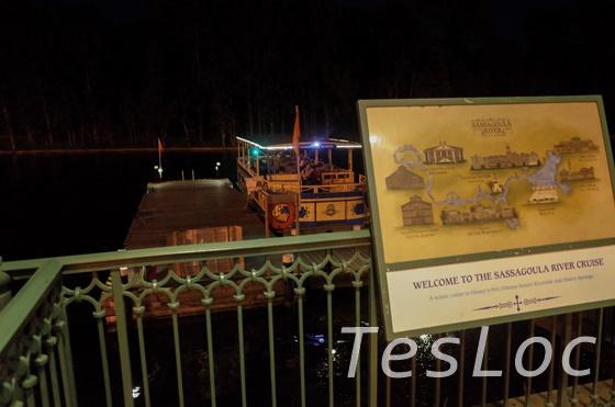 WDWフレンチ・クオーター「ディズニー・スプリングスへの船着き場」