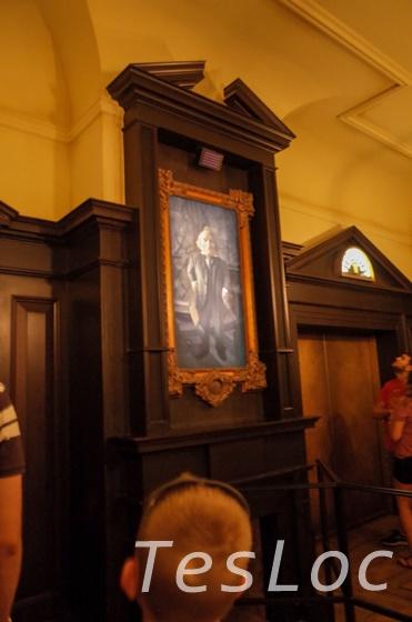 UORユニバーサル・スタジオ「ハリー・ポッター・アンド・エスケープ・フロム・グリンゴッツ」エレベーターホール