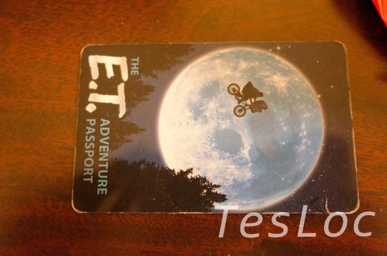 UORユニバーサル・スタジオ・フロリダ「E.T.アドベンチャー」カード