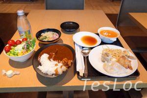 羽田空港国際線サクララウンジ料理