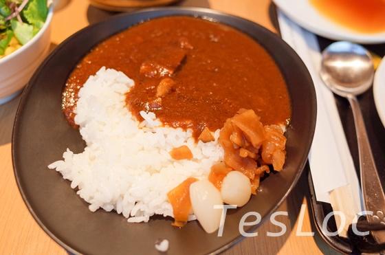 羽田空港国際線サクララウンジビーフカレー