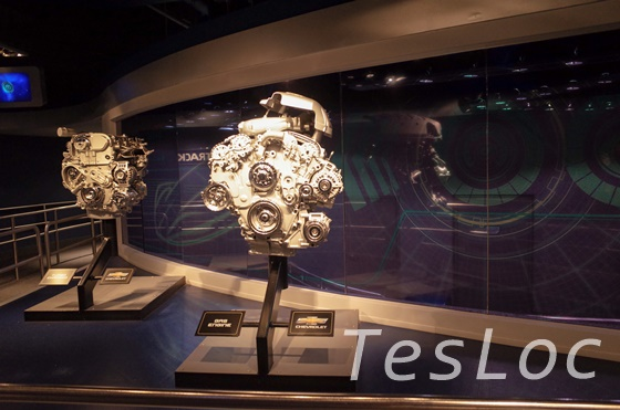 WDWエプコット「テスト・トラック」キューラインのエンジン