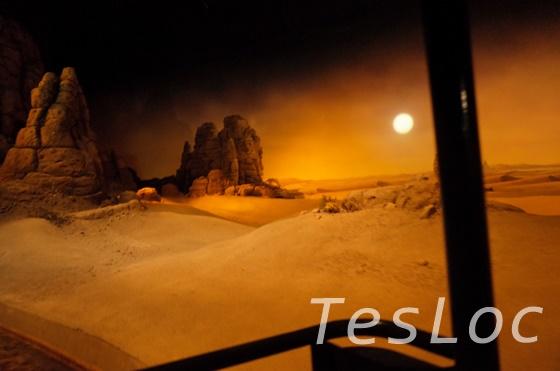 WDWエプコット「リビング・ウィズ・ザ・ランド」砂漠